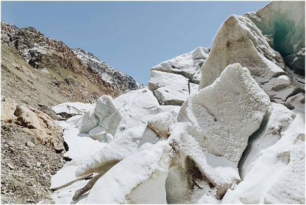 Glacier Austria Kaunertal Glacier