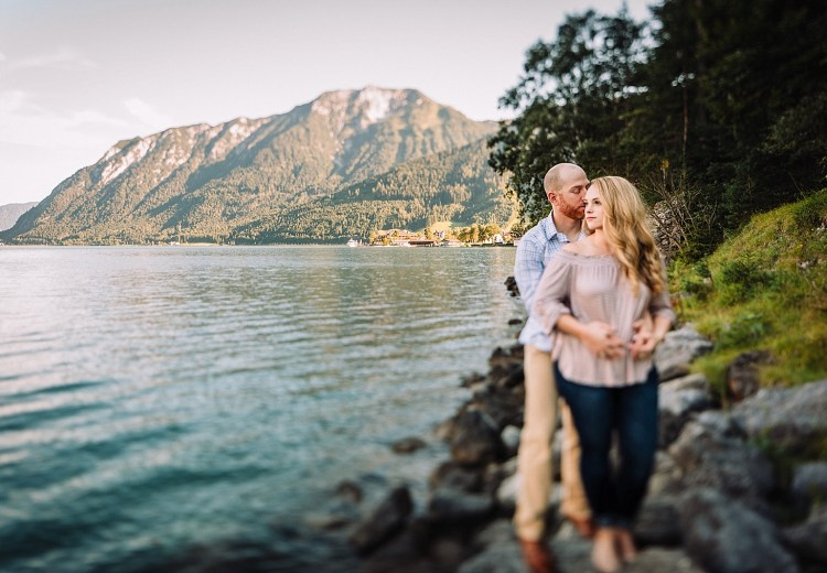 Achensee Lake Engagement in Austria by Wild Connections Photography