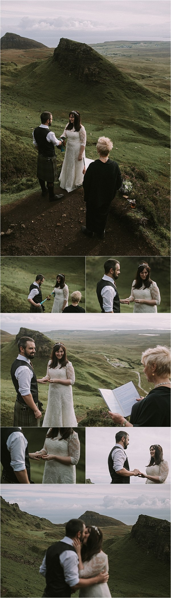 A handfasting ceremony on the Isle of Skye by Maureen Du Preez