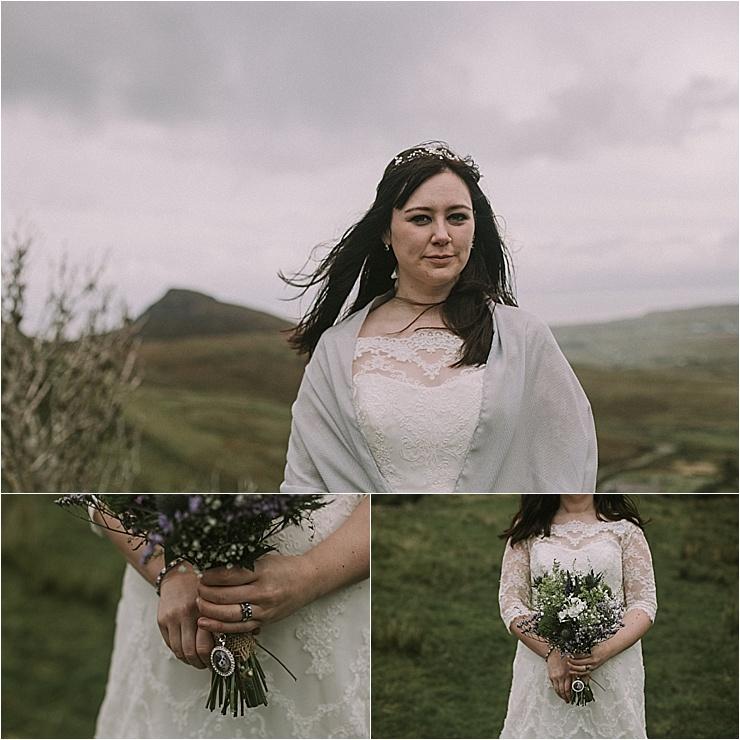 An Isle of Skye Scottish bride by Maureen Du Preez