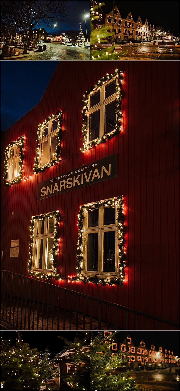 The capital Torshavn at Christmas in the Faroe Islands on We Are The Wanderers
