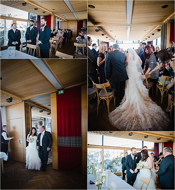 A mountain wedding ceremony in Mayrhofen Austria by Wild Connections Photography