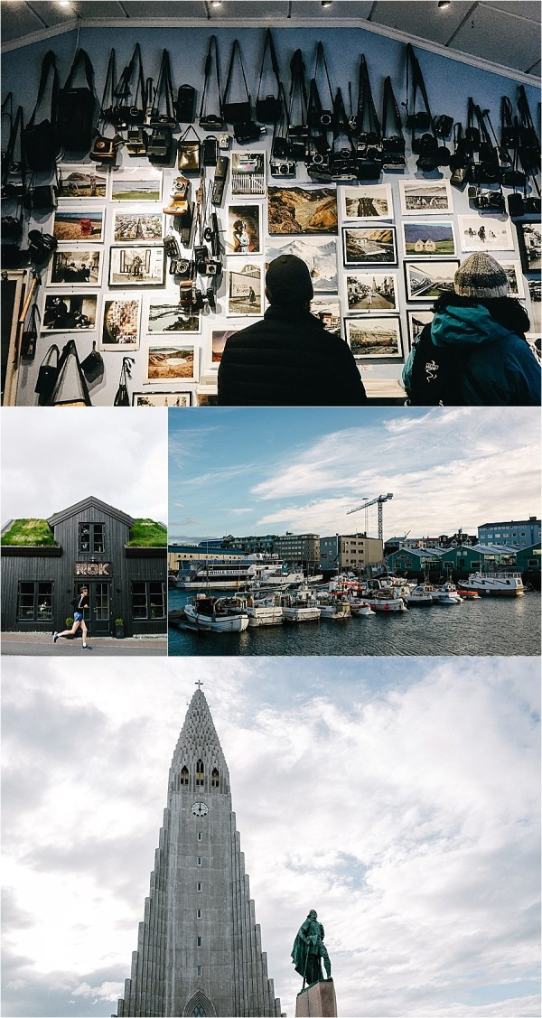The streets of Reykjavik on a road trip around Iceland's Ring Road by Carlyn K Photography