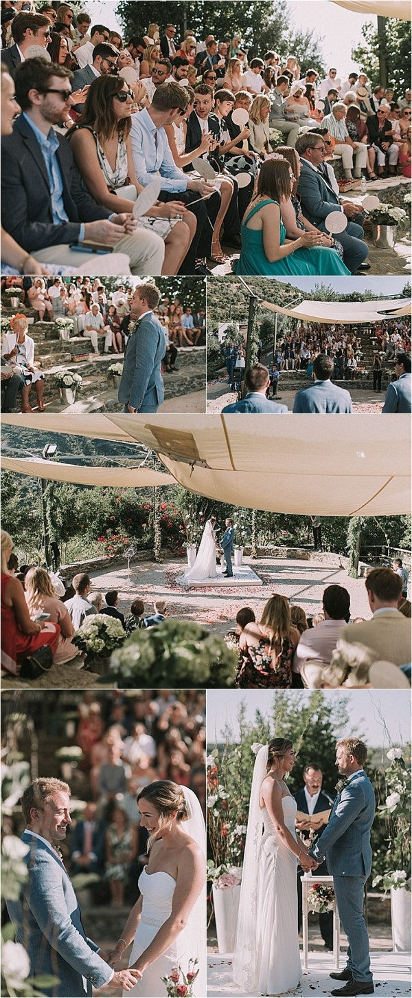 A wedding ceremony in the Botanical Park of Crete by Andreas Markakis Photography