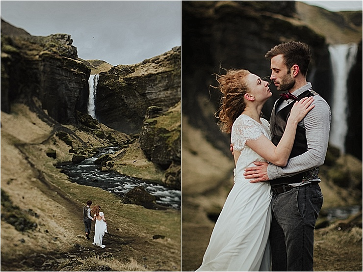 Adventure elopement in Iceland by Wild Connections Photography