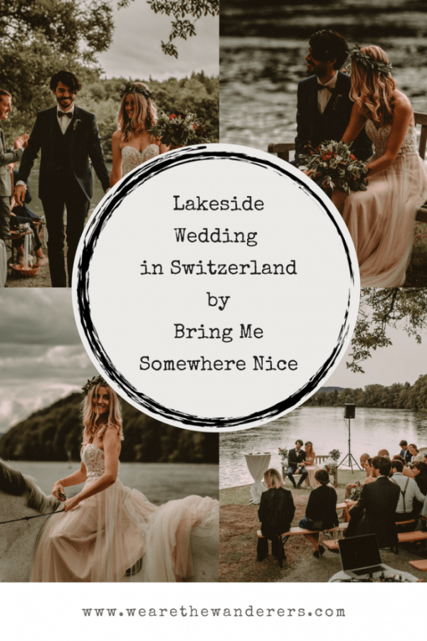 Lakeside Wedding in Switzerland