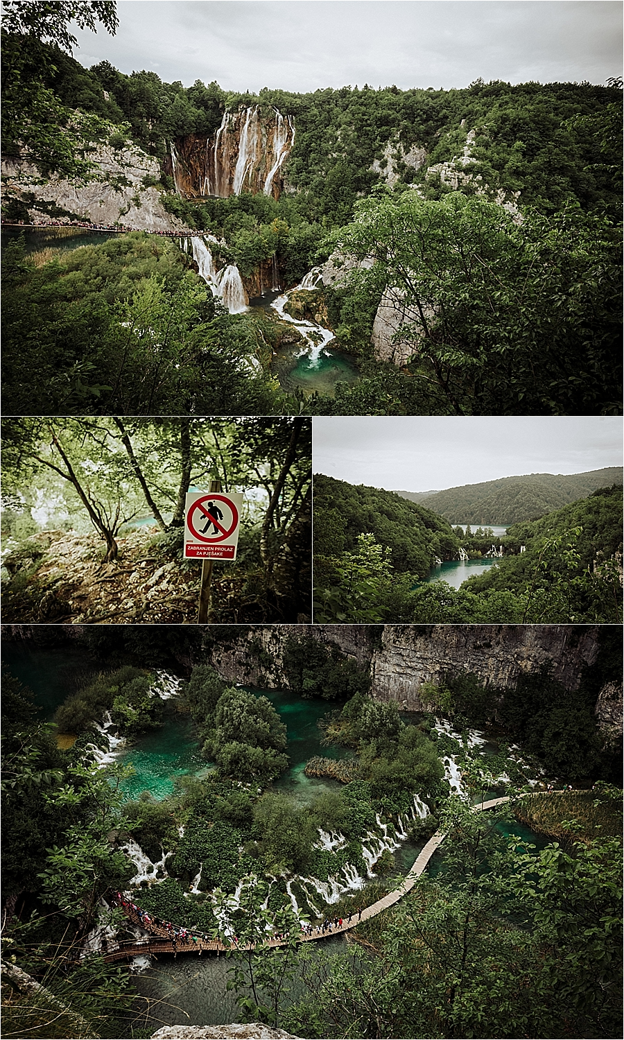 The large waterfall at Plitvice Lakes by Wild Connections Photography