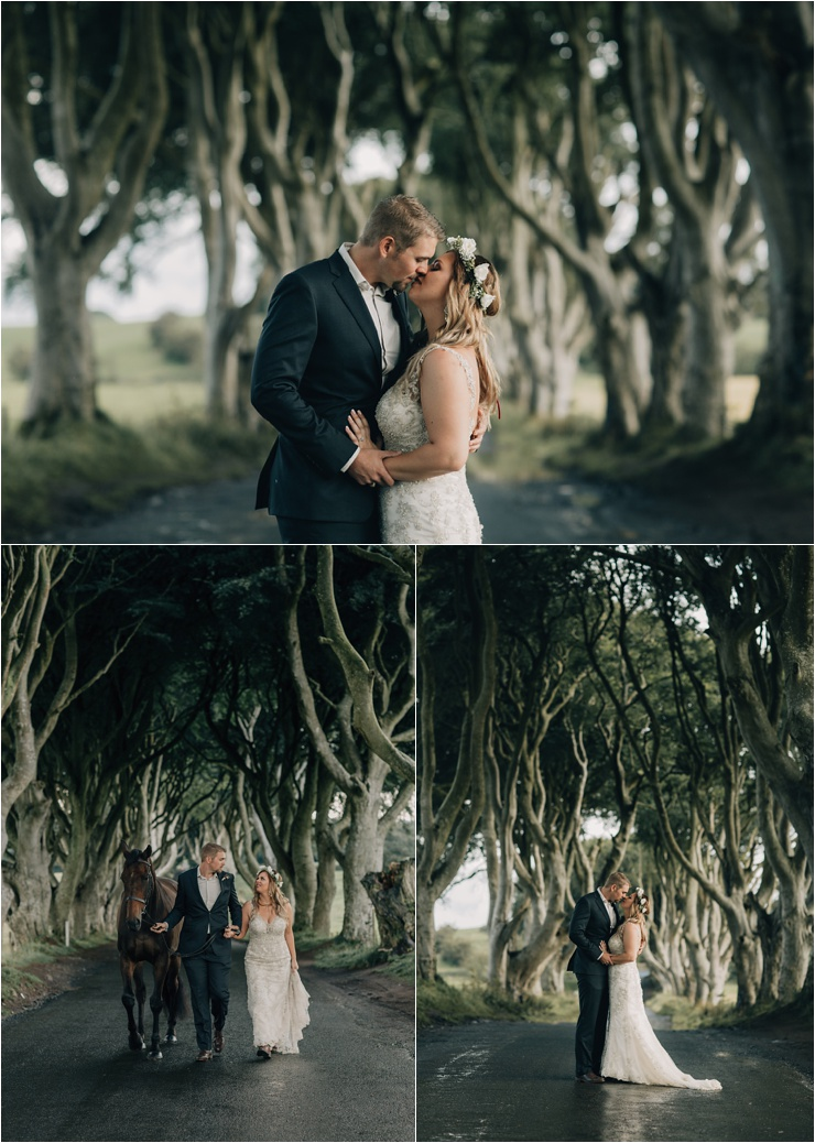 The Dark Shadows Game Of Thrones wedding in Northern Ireland by Paula O'Hara