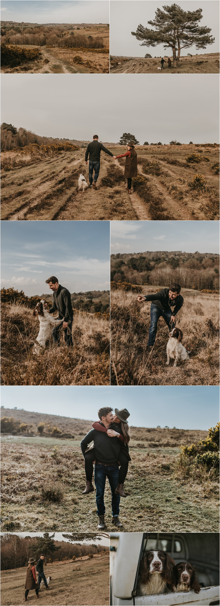 An anniversary shoot in the English Countryside in Ashdown Forest in Sussex by Emma Hill Film + Photography