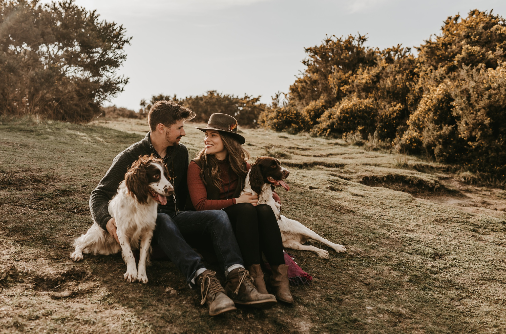 Ashdown Forest anniversary session in Sussex England by Emma Hill Film + Photography