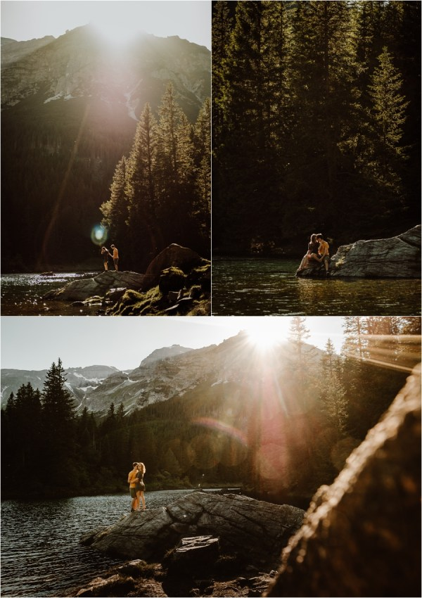 Obernberger See Lake adventure session in the Austrian Alps by Wild Connections Photography