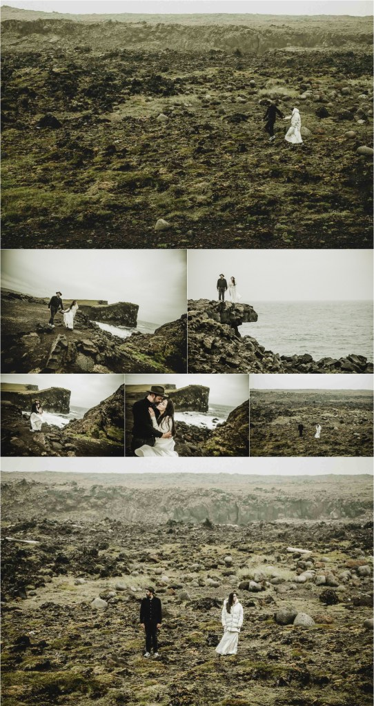 Projectphoto.ch anniversary shoot in Iceland collage for Pinterest