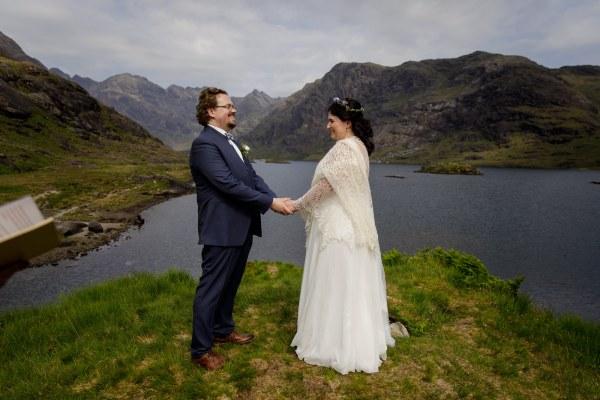 A heartfelt elopement ceremony for Tina & Jürgen by Lynne Kennedy Photography
