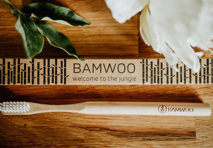 Bamwoo Bamboo Toothbrush - image by Cat Ekkelboom-White