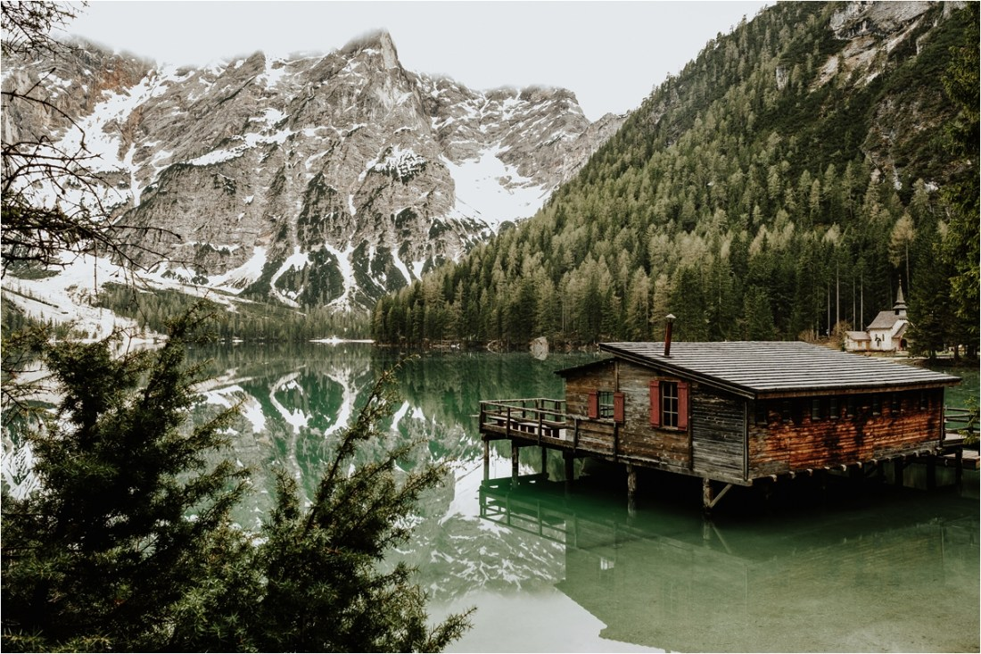 View across Lago di Braies by Wild Connections Photography