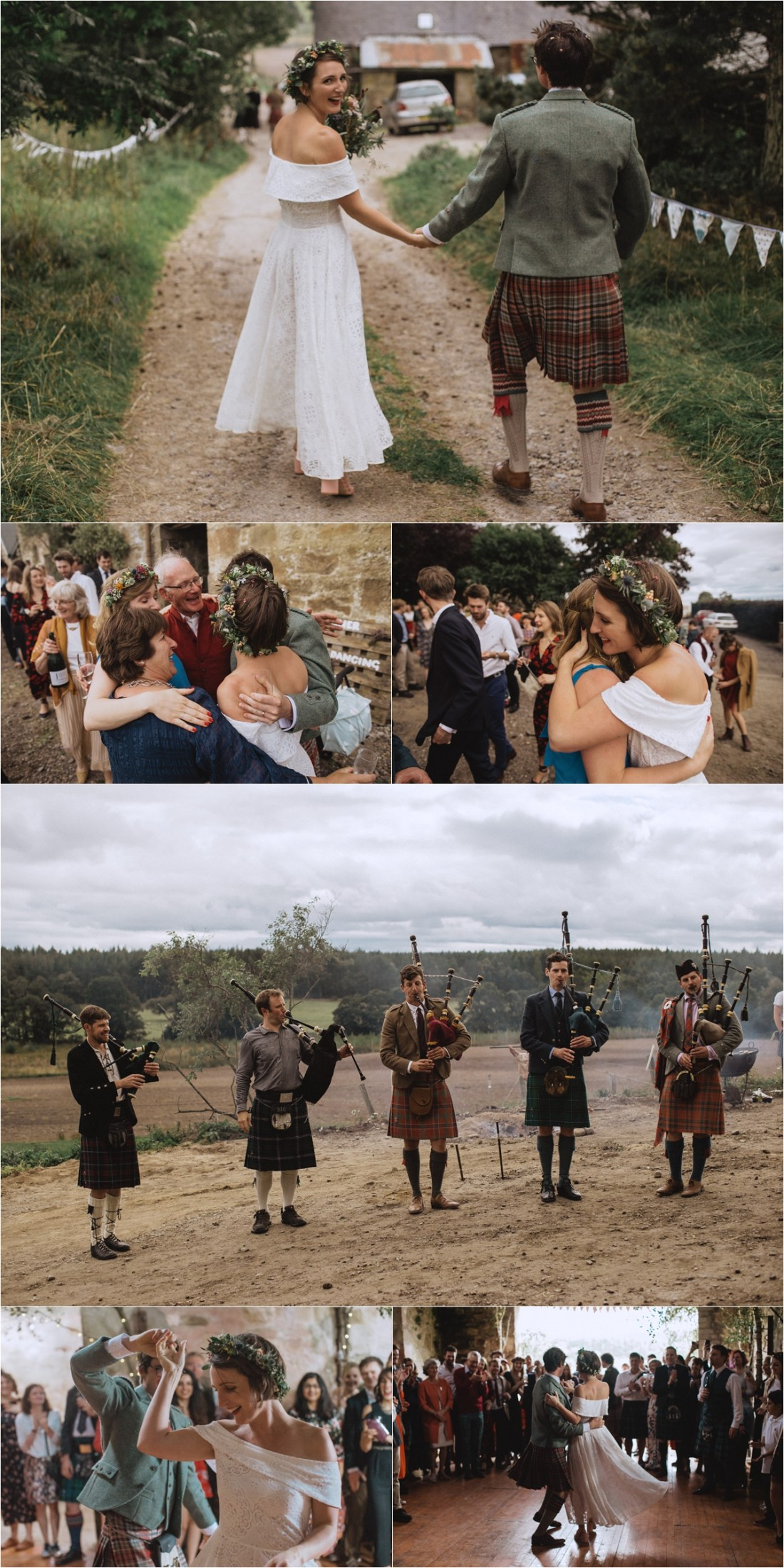 A Scottish sheep farm wedding by Fox & Bear Photography