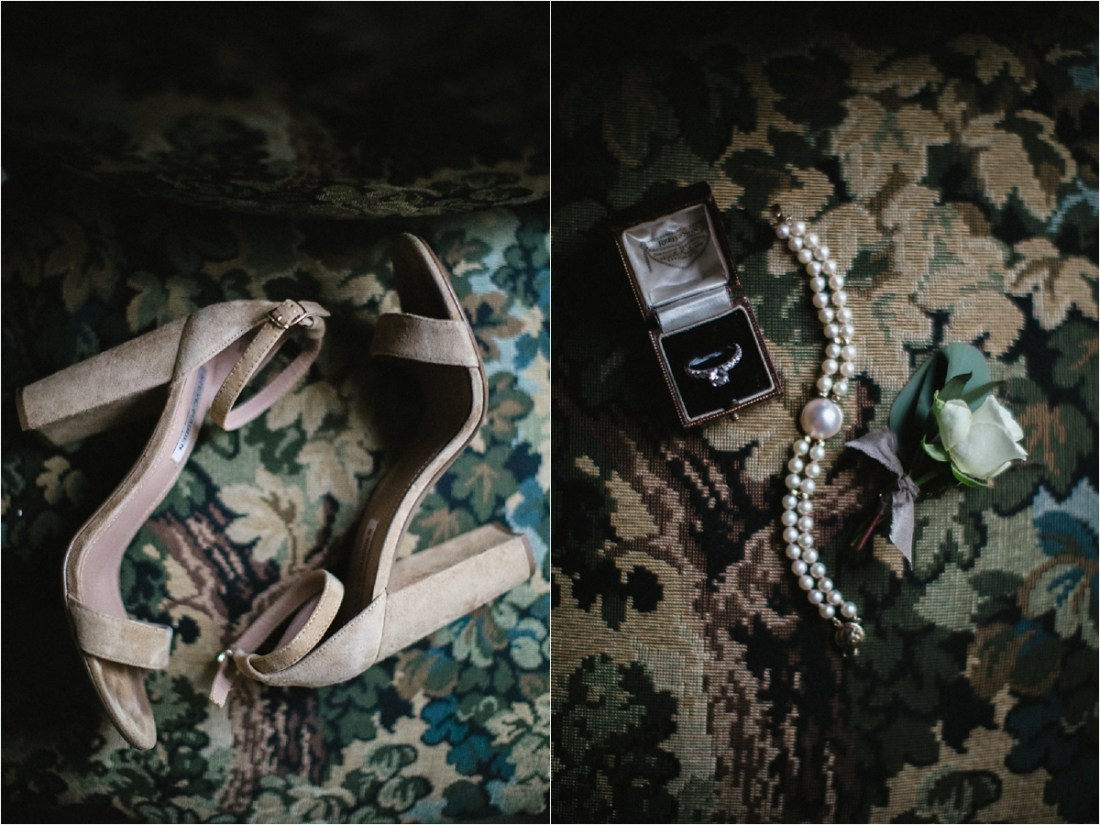 Bridal wedding details for a County Galway Intimate Destination Wedding by No Other Love Photography