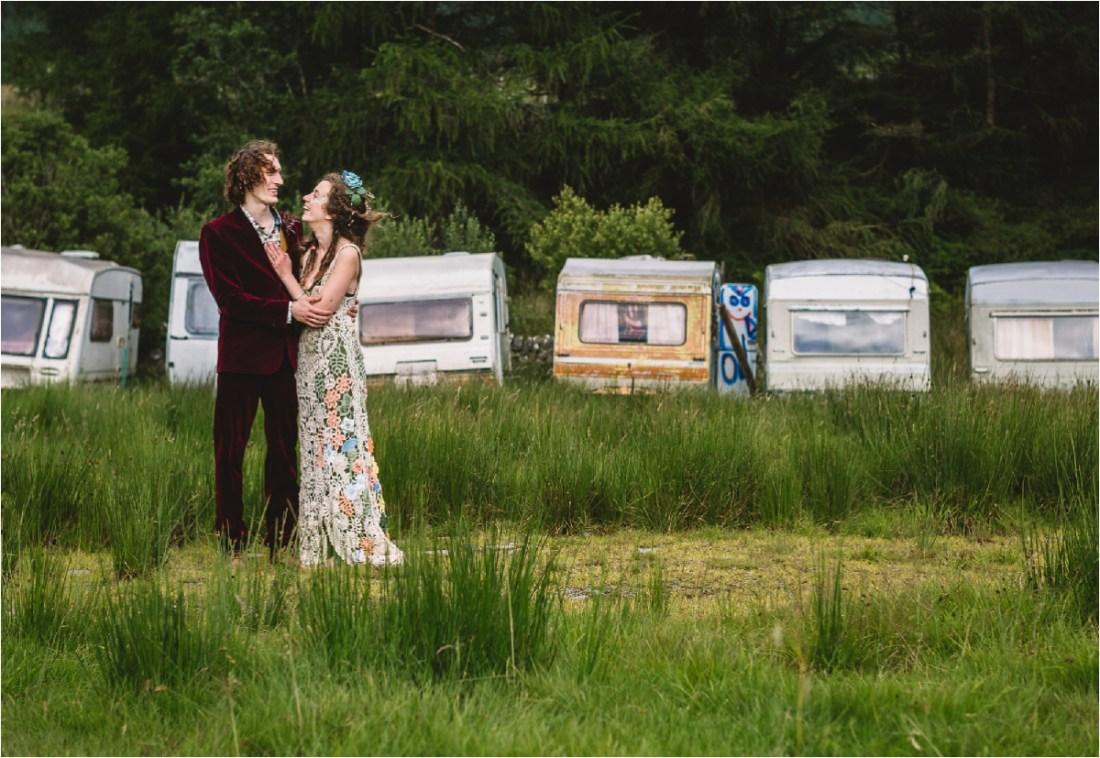 Kate Jackson Photography Hippie Wedding