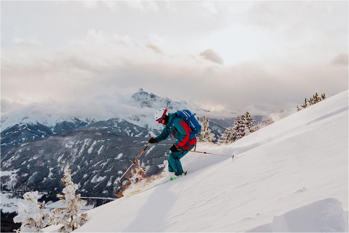 Freeride skiing in Austria by Ekkelboom-White Photography