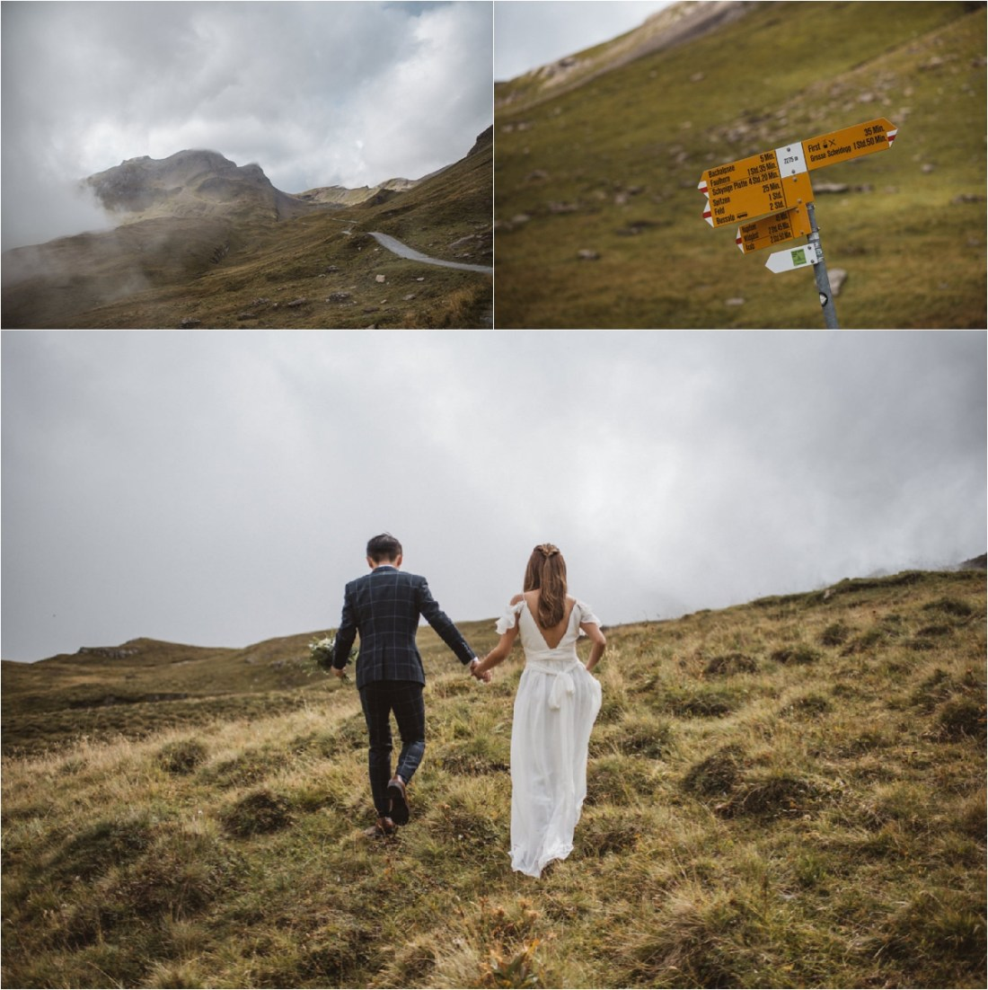 A Swiss Alps elopement shoot by KatjaSimon Photography