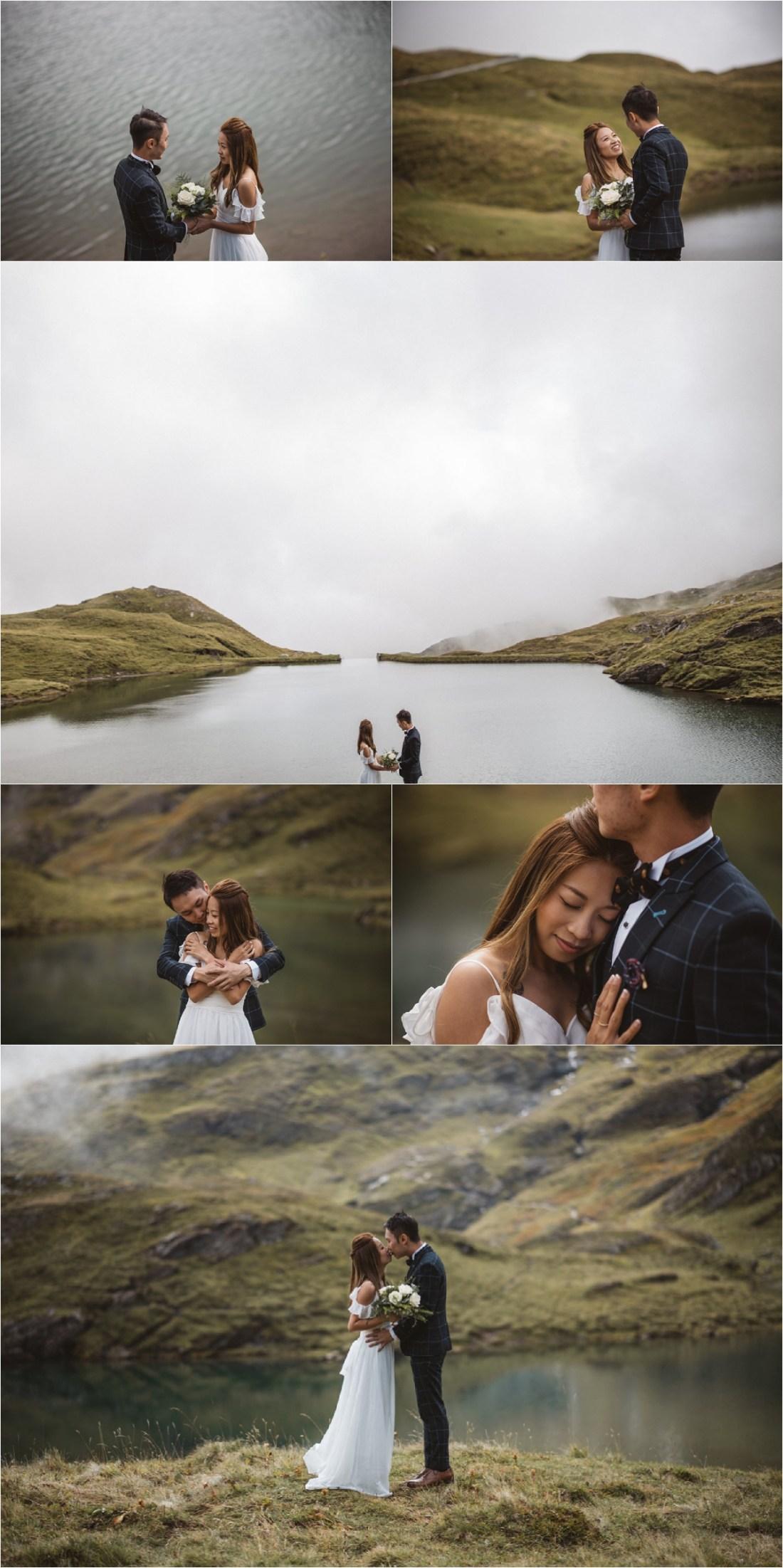 A Swiss Alps elopement shoot by KatjaSimon Photography