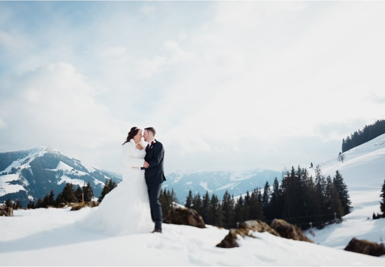 Brixen im Thale Austria winter wedding by Wild Connections Photography