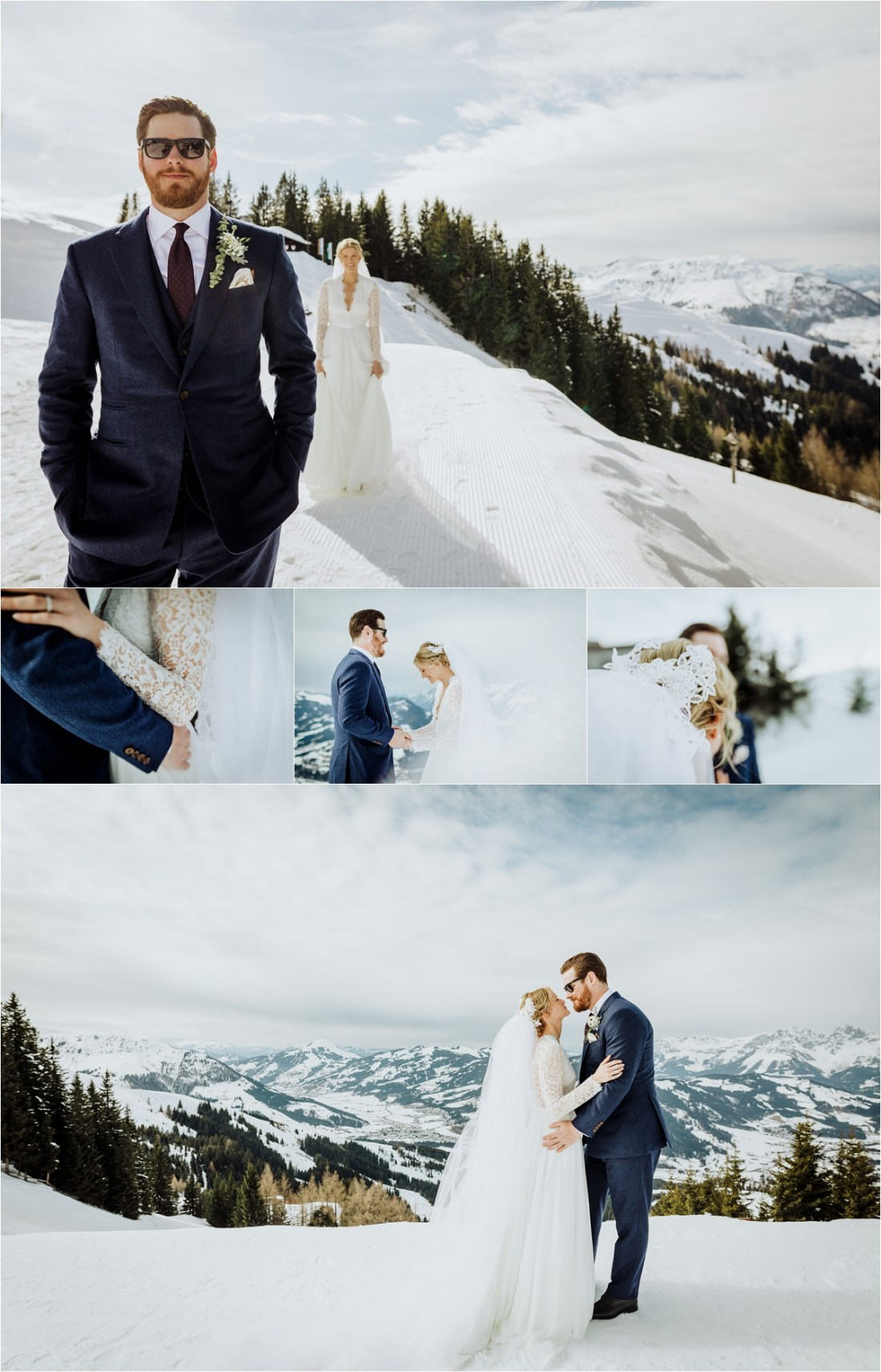 A first look in the snow in Kitzbühel Austria by Wild Connections Photography