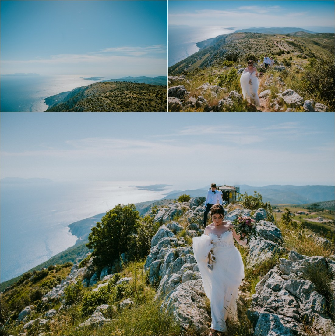 an elopement in Hvar Croatia