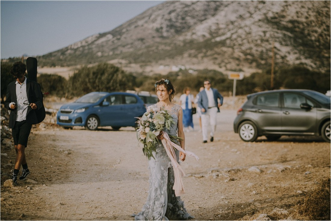Naxos Wedding, Intimate Wedding in Naxos in Greece