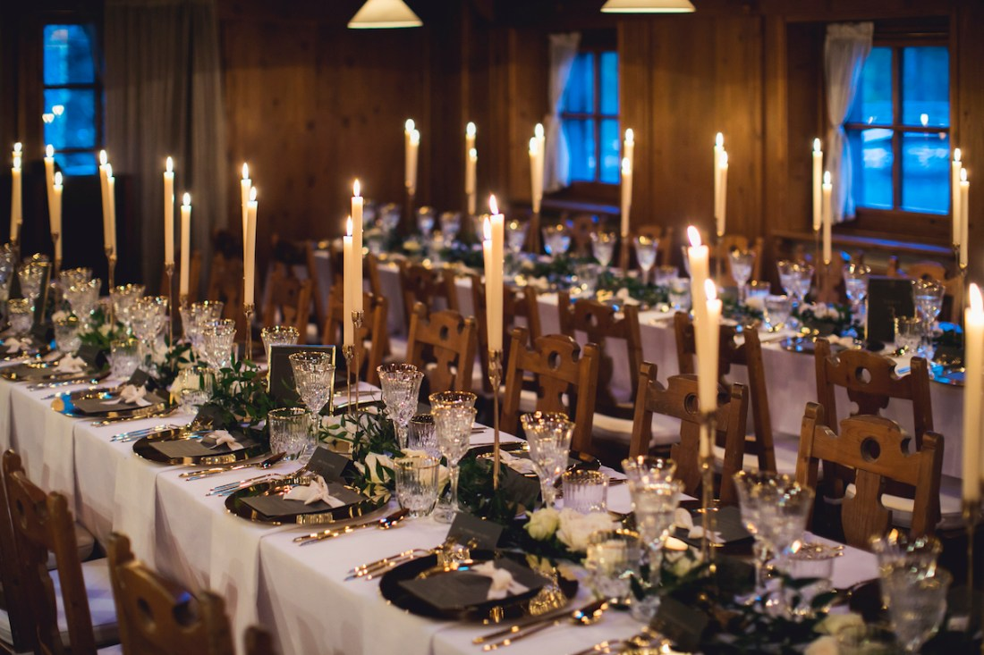 , Stylish Winter Wedding In Cortina d'Ampezzo