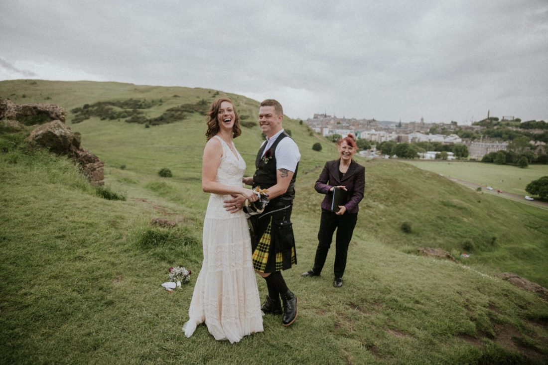 Edinburgh Elopement, Edinburgh City & Hills Elopement