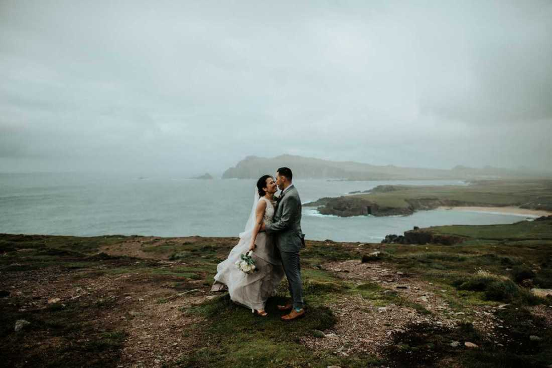, Intimate Destination Wedding at Slea Head