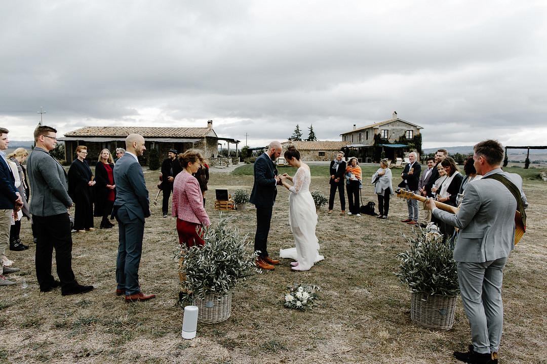 Wedding in Tuscany at Locanda in Tuscany