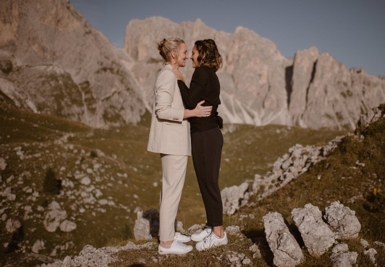 Same Sex Elopement in the Italian Dolomites