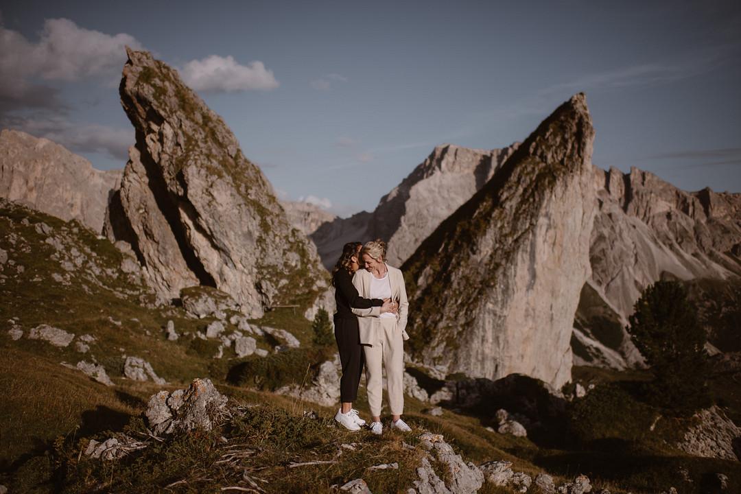 Elopement in the Italian Dolomites