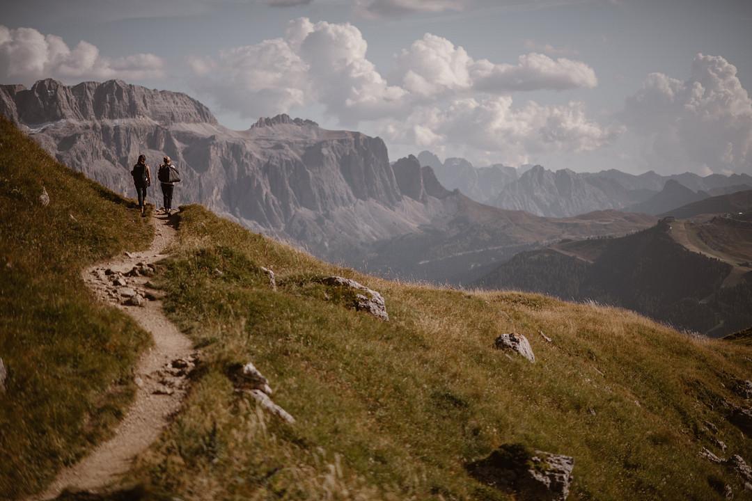 Hiking in the Italian Dolomites