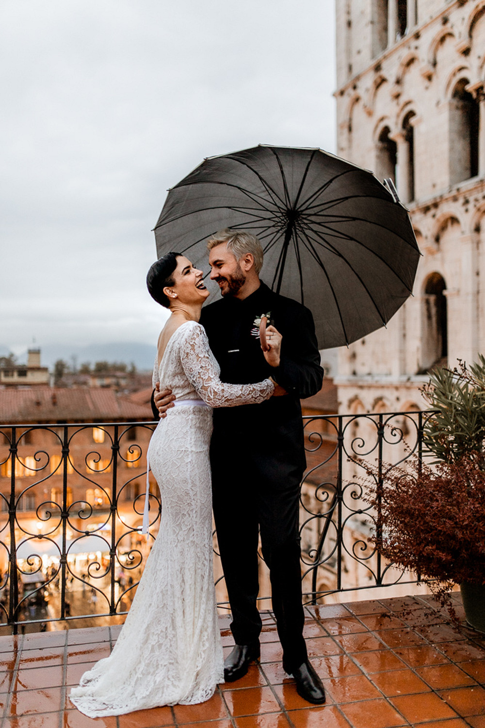 Halloween Elopement in Italy