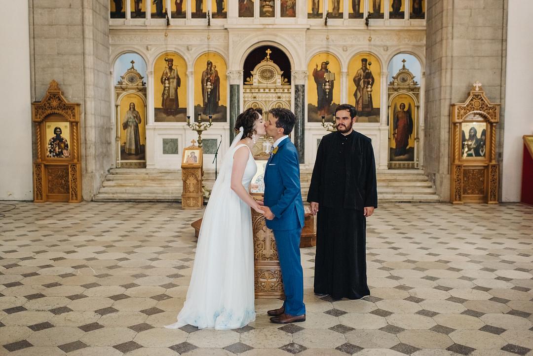 Orthodox Destination Wedding in Montenegro