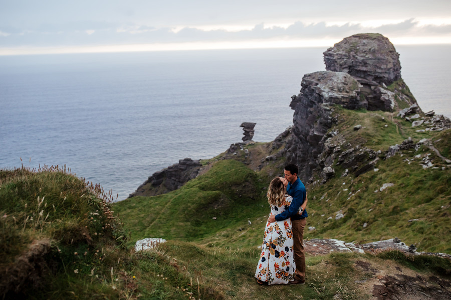 Vow Renewal at Hag's Head in Co. Clare, Ireland