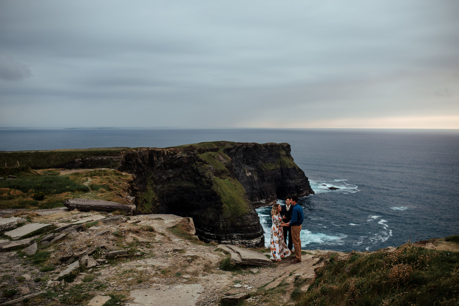 Cliffs of Moher vow renewal