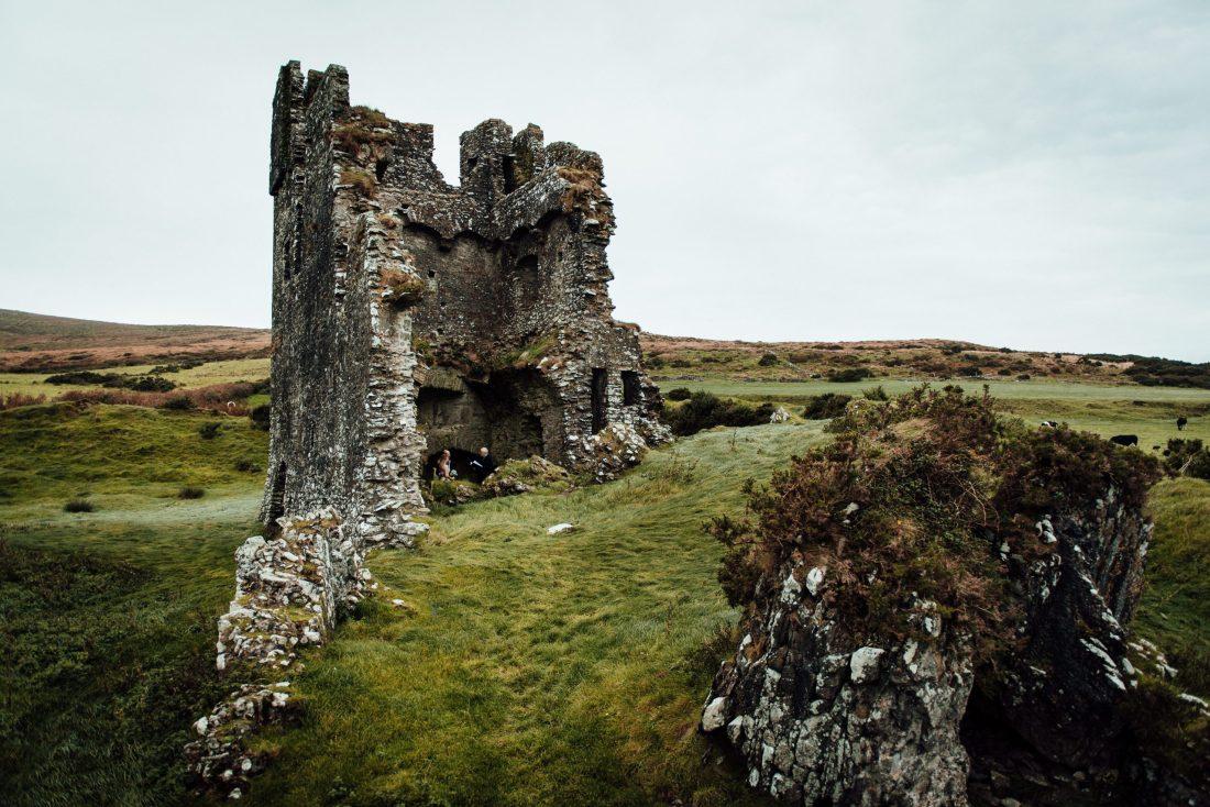 Rahinane Castle in Dingle