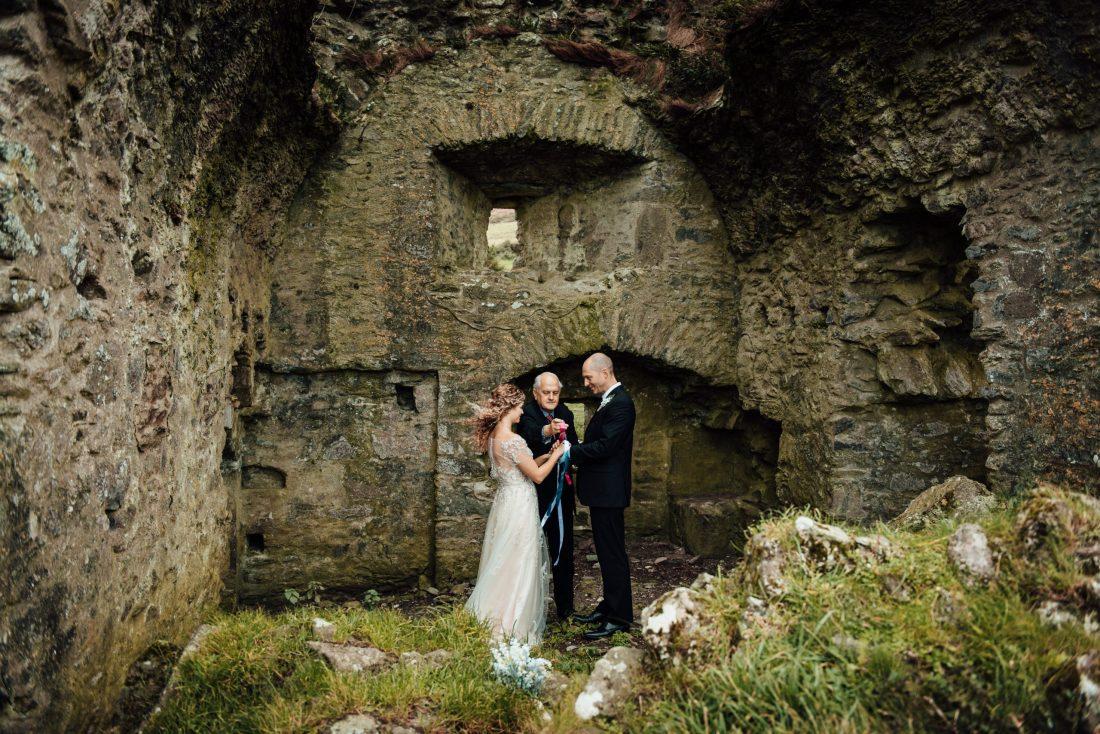 Castle Ruin Elopement in Ireland
