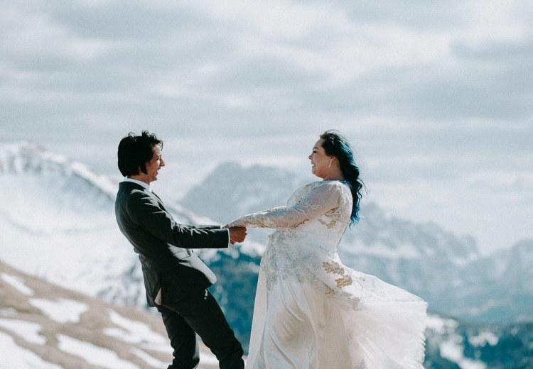 Ski Wedding in The Dolomites
