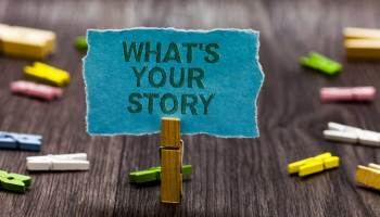 what's your story? Employee sharing content