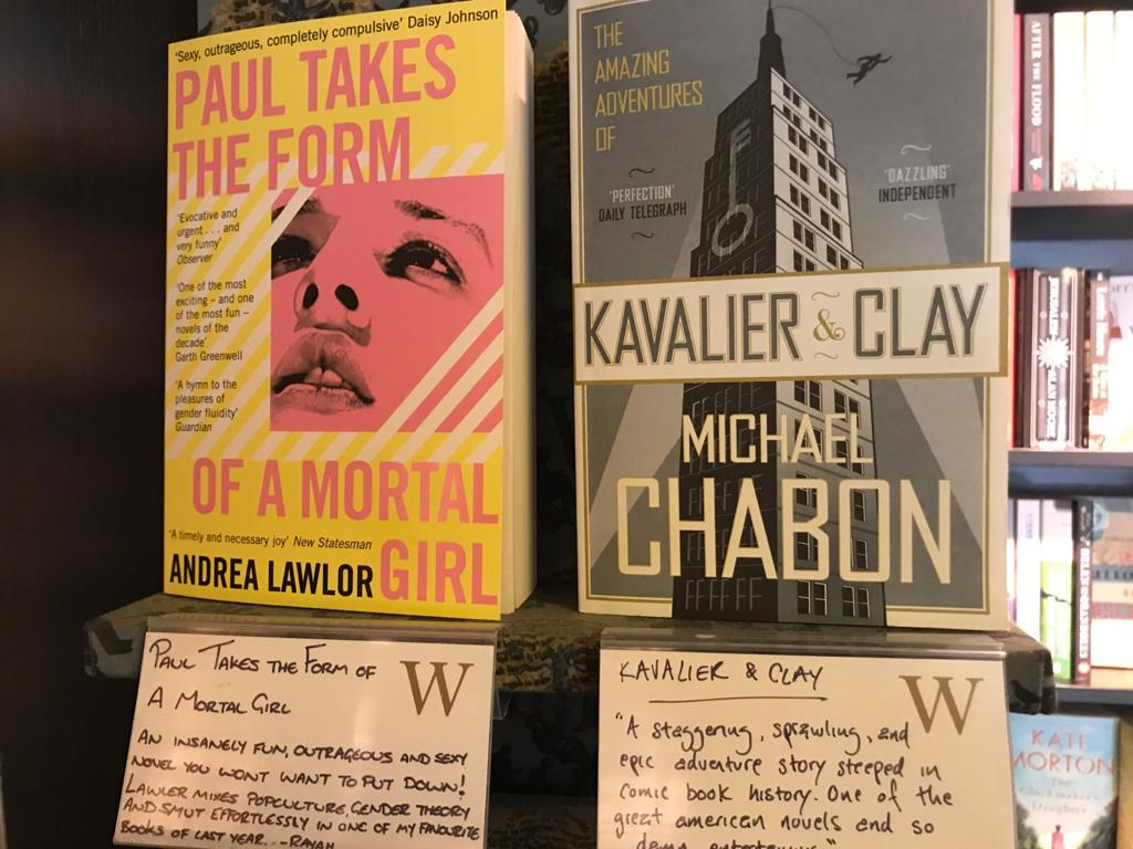 Personal recommendations from Waterstones staff