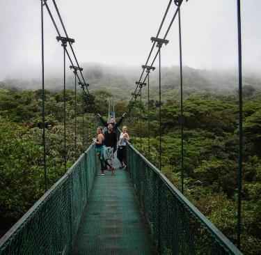 2. Monteverde - Suspension bridges