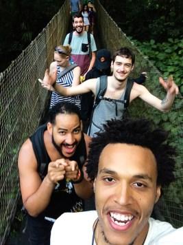 4. Arenal - making friends at Cerro Chato