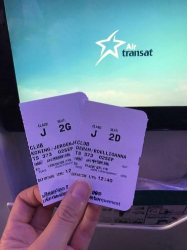 Air Transat vlucht naar Canada tickets