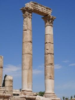 Amman citadel hercules tempel