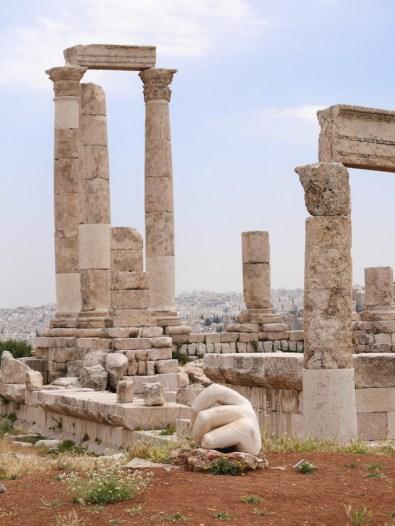 Amman citadel tempel van Hercules